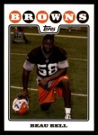 2008 Topps #413  Beau Bell  Front Thumbnail