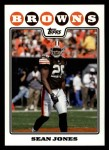 2008 Topps #272  Sean Jones  Front Thumbnail