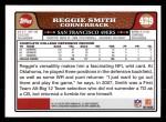 2008 Topps #429  Reggie Smith  Back Thumbnail