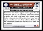 2008 Topps #299   -  Marion Barber Pro Bowl Back Thumbnail