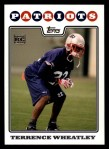 2008 Topps #405  Terrence Wheatley  Front Thumbnail
