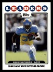 2008 Topps #291  Brian Westbrook  Front Thumbnail
