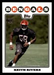 2008 Topps #417  Keith Rivers  Front Thumbnail