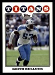 2008 Topps #236  Keith Bulluck  Front Thumbnail