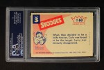 1959 Fleer Three Stooges #60   Betcha 8 to 5 You Miss Me Again  Back Thumbnail