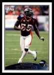 2009 Topps #47  D.J. Williams  Front Thumbnail