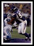 2009 Topps #16  Kevin Williams  Front Thumbnail