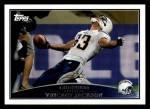 2009 Topps #186  Vincent Jackson  Front Thumbnail