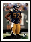 2009 Topps #189  Calvin Pace  Front Thumbnail
