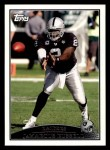 2009 Topps #124  JaMarcus Russell  Front Thumbnail