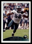 2009 Topps #273  Trent Cole  Front Thumbnail