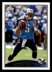 2009 Topps #263  Kerry Collins  Front Thumbnail