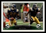2009 Topps #328   -  Thomas Jones / Leon Washington Classic Combo Front Thumbnail