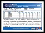 2009 Topps #369  Everette Brown  Back Thumbnail