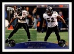 2009 Topps #326   -  Ed Reed / Ray Lewis Classic Combo Front Thumbnail