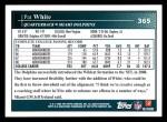 2009 Topps #365  Pat White  Back Thumbnail