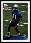 2009 Topps #331  Aaron Brown  Front Thumbnail
