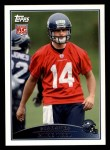 2009 Topps #409  Mike Teel  Front Thumbnail