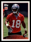2009 Topps #426  Sammie Stroughter  Front Thumbnail