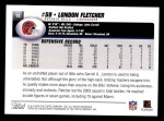 2004 Topps #18  London Fletcher  Back Thumbnail