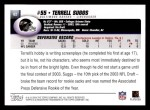 2004 Topps #62  Terrell Suggs  Back Thumbnail