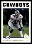 2004 Topps #66  Terence Newman  Front Thumbnail