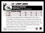 2004 Topps #53  LaMont Jordan  Back Thumbnail