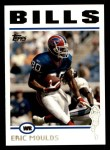 2004 Topps #19  Eric Moulds  Front Thumbnail