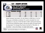 2004 Topps #68  Shawn Bryson  Back Thumbnail