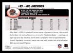 2004 Topps #51  Joe Jurevicius  Back Thumbnail