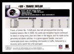 2004 Topps #89  Travis Taylor  Back Thumbnail