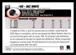 2004 Topps #78  Dez White  Back Thumbnail
