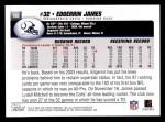 2004 Topps #160  Edgerrin James  Back Thumbnail