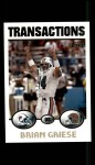 2004 Topps #163  Brian Griese  Front Thumbnail