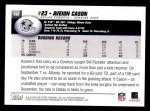 2004 Topps #104  Aveion Cason  Back Thumbnail