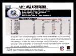 2004 Topps #106  Bill Schroeder  Back Thumbnail