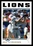 2004 Topps #106  Bill Schroeder  Front Thumbnail