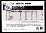 2004 Topps #199  Keyshawn Johnson  Back Thumbnail