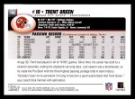 2004 Topps #195  Trent Green  Back Thumbnail
