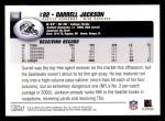 2004 Topps #186  Darrell Jackson  Back Thumbnail