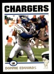 2004 Topps #111  Donnie Edwards  Front Thumbnail