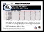 2004 Topps #149  Muhsin Muhammad  Back Thumbnail