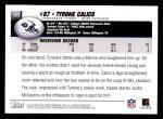 2004 Topps #171  Tyrone Calico  Back Thumbnail