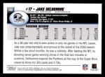 2004 Topps #280  Jake Delhomme  Back Thumbnail