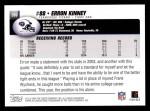2004 Topps #209  Erron Kinney  Back Thumbnail