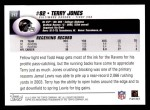 2004 Topps #212  Terry Jones  Back Thumbnail