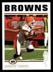 2004 Topps #283  Andre' Davis  Front Thumbnail