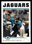 2004 Topps #245  Byron Leftwich  Front Thumbnail