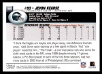 2004 Topps #223  Jevon Kearse  Back Thumbnail