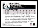 2004 Topps #278  A.J. Feeley  Back Thumbnail